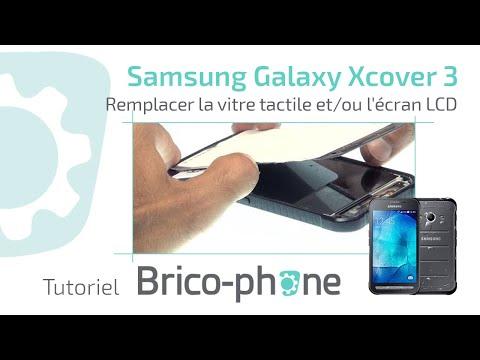 Tutoriel Samsung Galaxy Xcover 3 : remplacer la vitre tactile et/ou l'écran LCD