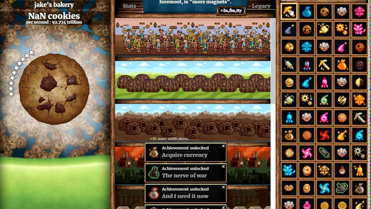 how to hack cookie clicker 2018