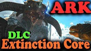 ARK Extinction core - Новый мир (АРК вымирание) - Крутое дополнение с боссами Титанами (Ковчег)