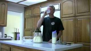Antique Butter Churn - Making Home Made Butter
