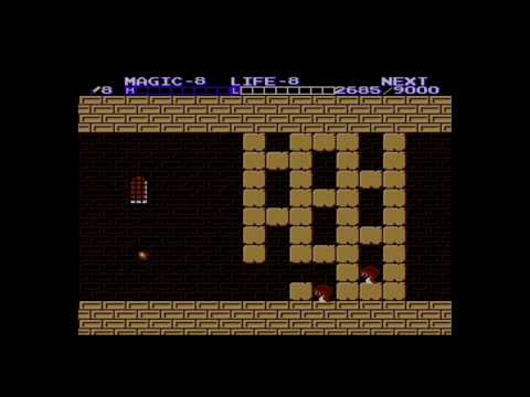 Zelda 2: Cheating Though the Great Palace(poorly)