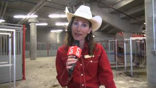 Animal friendly features of the Agrium Western Event Centre