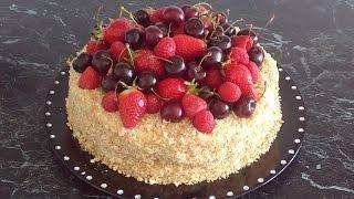 Торт Наполеон. Рецепт приготовления