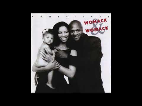 Womack & Womack ✧ Teardrops (Conscience, 1988)