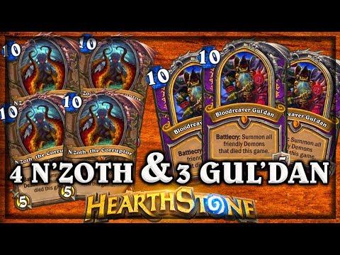 4 N'zoth and 3 Guldan ~ Kobolds & Catacombs ~ Hearthstone