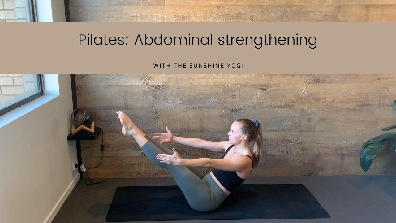 Pilates for Abdominal Strengthening