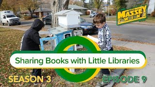 Sharing Books With Little Libraries