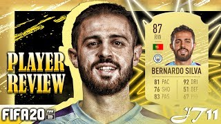 FIFA 20 BERNARDO SILVA 87 PLAYER REVIEW