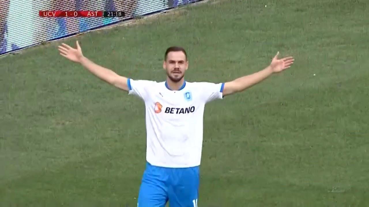 Rezumat CS U Craiova - Astra 2-0! Oltenii isi refac moralul, dupa eliminarea din Europa League