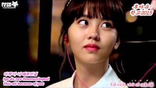 [Lyrics + Engsub + Vietsub] Saranghae ssong - Lee Jin Ah (YiBi ver) {MEOW Team}