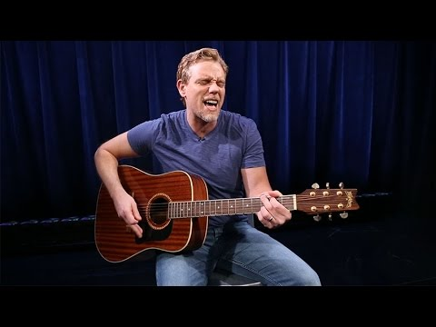 Adam Pascal Performs Acoustic
