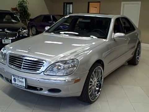 Mercedes benz s500 on 22 39 staggered lexanis hd doovi for S430 mercedes benz