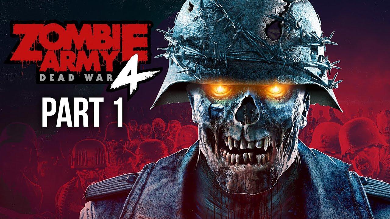 ZOMBIE ARMY 4 DEAD WAR Gameplay soluce, partie 1 - PREMIÈRE MISSION #ad + vidéo