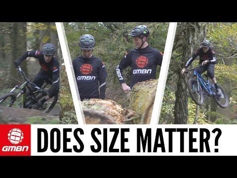 Does Bike Size Matter? Scott's Bike Vs. Neil's Bike