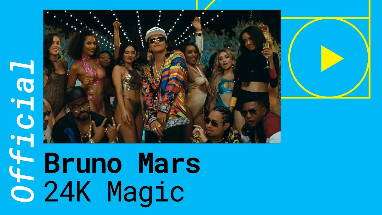 Bruno Mars - 24K Magic (Official Video)