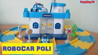 vuclip Robocar Poli 로보카폴리 Police office station PlayClayTV funny video for kids