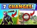 Fortnite Update: 7 SECRET CHANGES! – NEW Omega Colors, Soccer Stadium (Battle Royale New Gun/Skin)