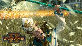 COMBINED ARMS - Empire vs Tomb Kings // Total War: Warhammer II Online Battle