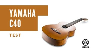 Yamaha C40 Guitar -Test