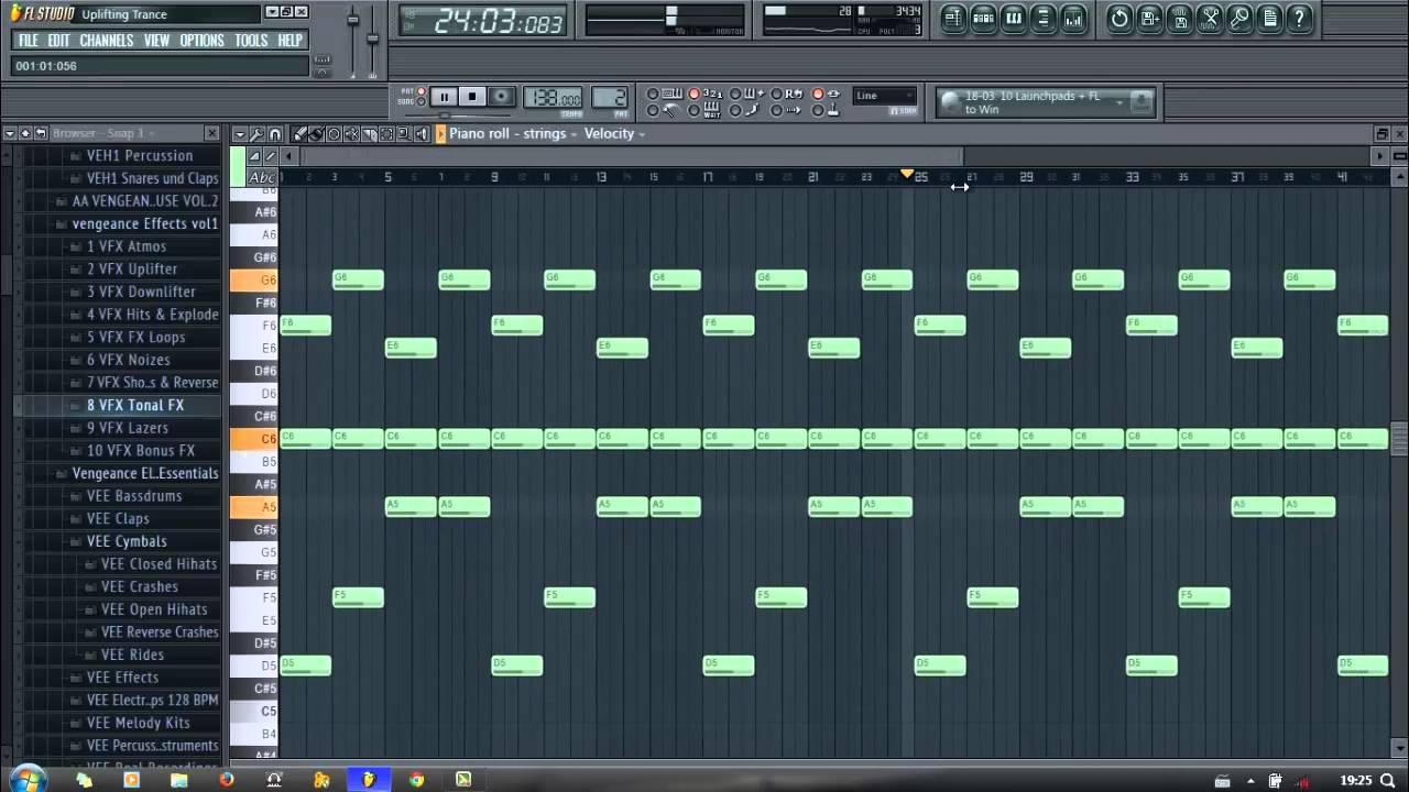 уроки fl studio trance