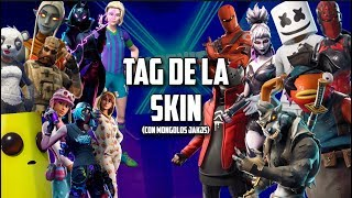 TAG of the SKIN in FORTNITE (with Mongols)