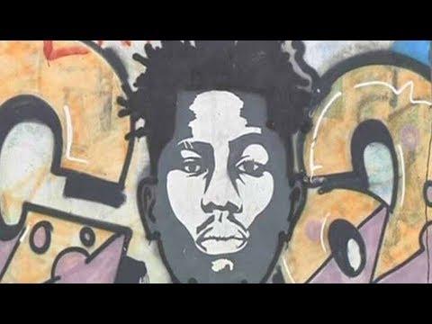 Graffiti artist turns Lagos city into his canvas