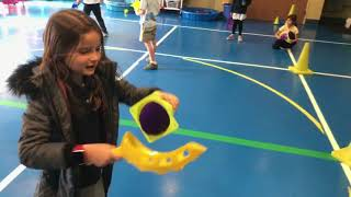 Making Ice Cream Cones with Scoops in PE