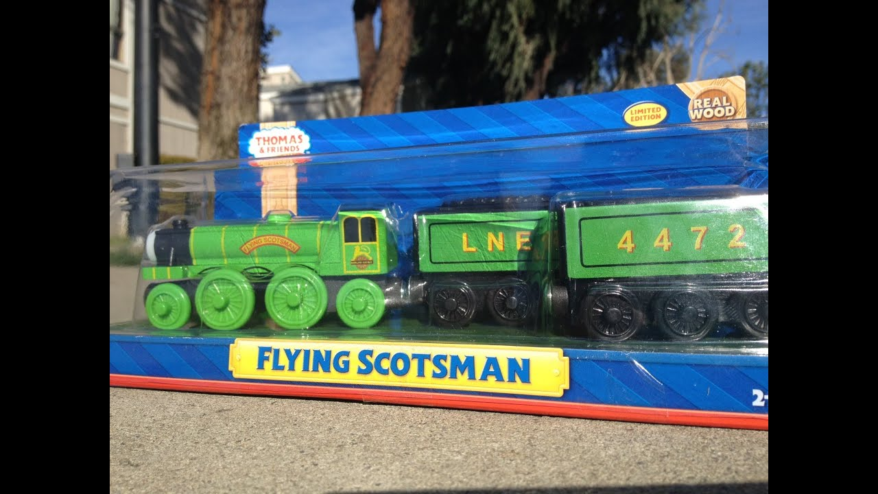 New 2013 Flying Scotsman Fisher Price Thomas The Tank Engine And Friends Wooden Toy Train Railway