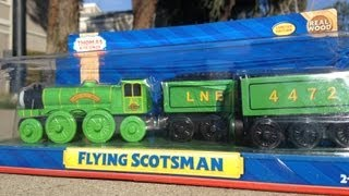 New 2013 Flying Scotsman - Fisher Price Thomas The Tank Engine And Friends Wooden Toy Train Railway