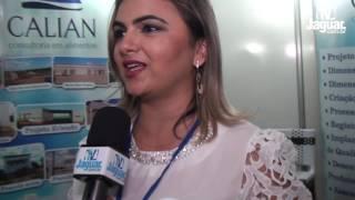 Lana Castro apresentou na FENERJ os serviços de de consultoria da CALIAN