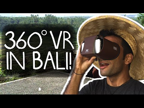 Finding Myself in Bali - A 360° VR Experience
