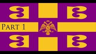 Let's Play Europa Universalis 3 Divine Wind D&T Byzantium Part 1