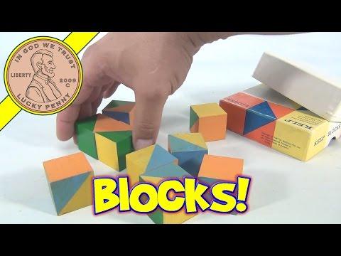 KELP Building Block Set - Kindergarten Evaluation of Learning Potential, 1967 McGraw-Hill