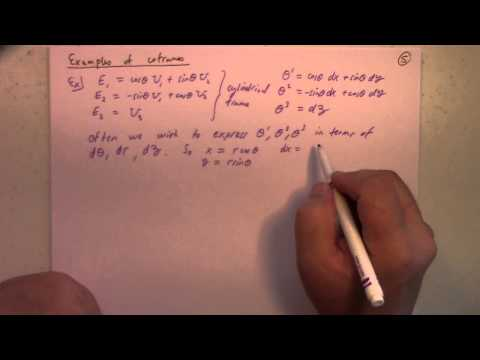 Differential Geometry: Lecture 8: coframes and structure equations for R3