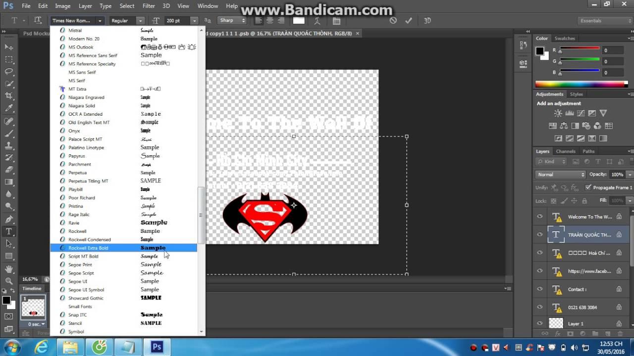 Hướng dẫn cover ảnh bìa facebook cực đẹp bằng PSD có sẵn