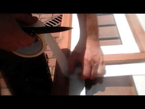 Как покрасить деревянные окна .VIDEO 2016