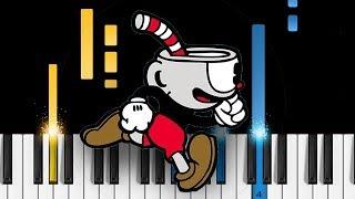 Cuphead Rap - EASY Piano Tutorial