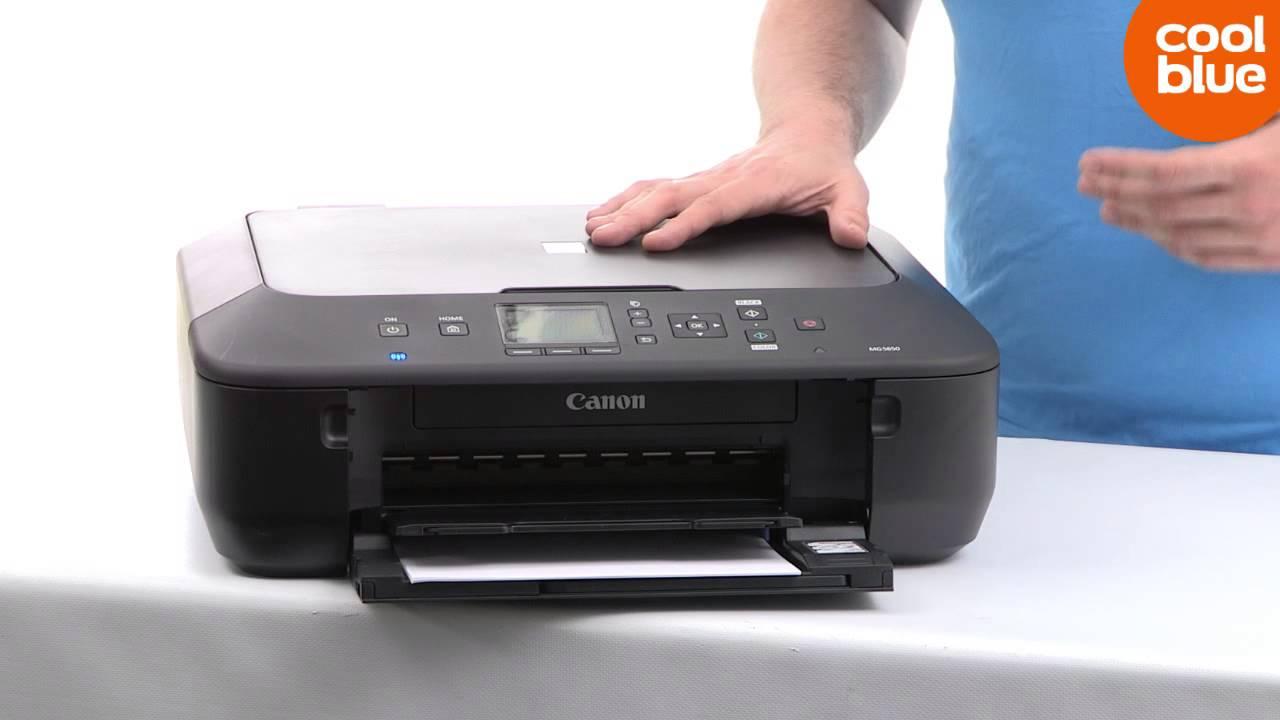 canon pixma mg5650 printer nl be youtube. Black Bedroom Furniture Sets. Home Design Ideas