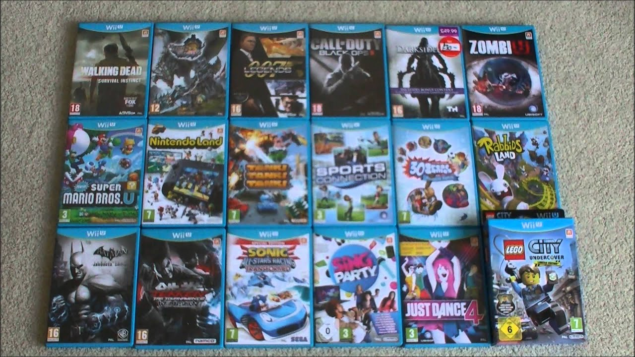 Nintendo Wii U Games Collection   18 Games   Monster Hunter 3     Nintendo Wii U Games Collection   18 Games   Monster Hunter 3 Ultimate  Online Multiplayer   YouTube