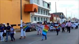 Así fue la Cuarta marcha del orgullo LGBTTI Coatzacoalcos