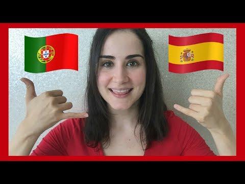 SPANISH vs PORTUGUESE LANGUAGE  Part 2 🇪🇸  🇵🇹