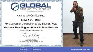 Steven St. Pierre Weapons Handling