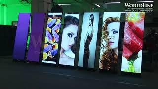 WorldLine Technology - New Digital Standee