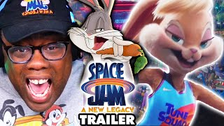 SPACE JAM A New Legacy TRAILER REACTION & Easter Eggs
