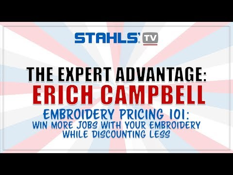 Embroidery Pricing 101 Win More Jobs While Discounting Less