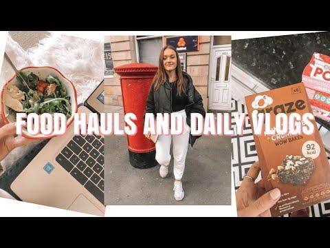 VLOG | student food haul ideas, working & amaze voucher deals | ames banks