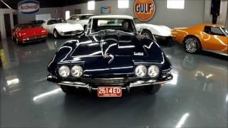 1966 Corvette Convertible - L79 327ci 350hp, #'s Match, Blue/Black - Seven Hills Motorcars