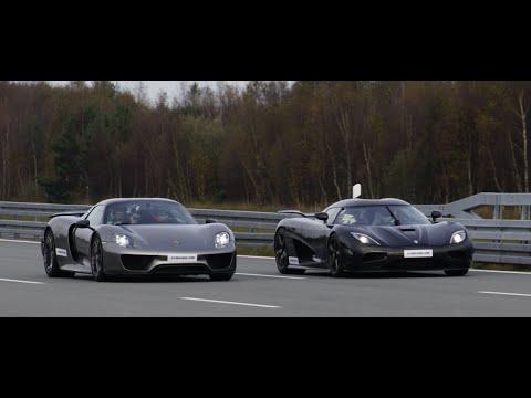 4k] Koenigsegg Agera R vs Porsche 918 Spyder Weissach Package 50-320 on porsche spyder, porsche gt, porsche macan, porsche boxster, porsche p1, porsche supercar, porsche gt2, porsche hybrid, porsche gt3,