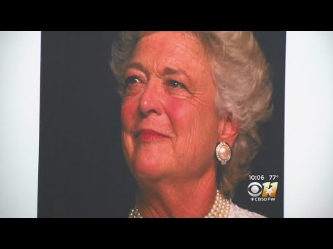 Former First Lady Barbara Bush Remembered In Dallas