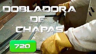 Repeat youtube video Dobladora de chapas, Casera. (Home made plate bender )